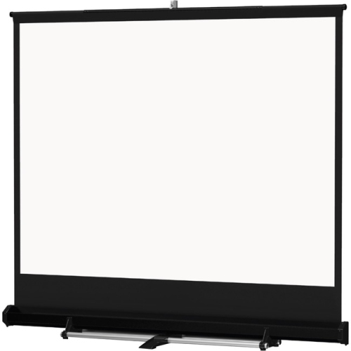 "DA-Lite Floor Model C 69"" X 92"" Matte White Heavy Duty Portable And Projection Screens 120"" Diagonal"