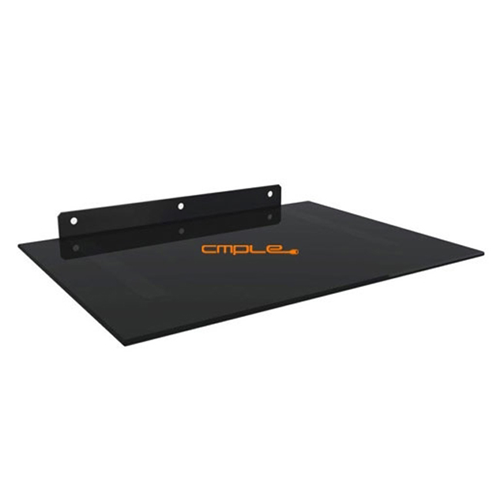 "DVD/AV Component Wall Mount (17.71"" x 12.99"") - Black"