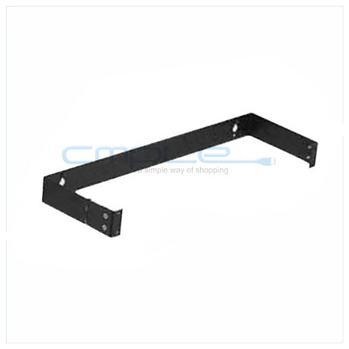 "1 Unit Patch Panel Hinged Wall Bracket, 1.75"" (H) x 19"" (W) x 4"" (D)"