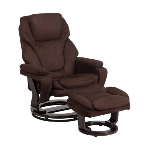 Flash Furniture Symmetrical Reclining Sofas ( 863-Bt-70222-Mic-Fla ) - Brown