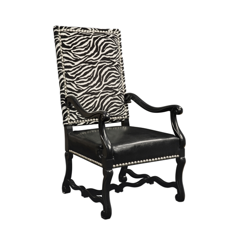 Wallace Chair - Black/White