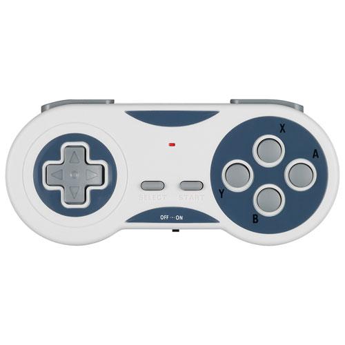Manette sans fil d'Insignia pour SNES Classic - Blanc