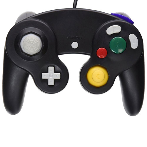 TTX Tech Controller for Gamecube/Wii - Black