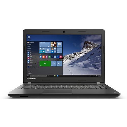 """Lenovo IdeaPad 100 14.0"""" Intel Pentium Quad Core N3540 4 GB Memory 500 GB HDD Windows 10 Home Laptop (80MH007YUS)"""