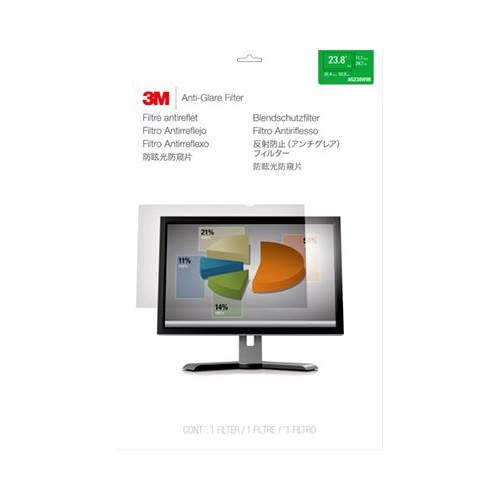 "3M Anti-Glare Filter For 23.8"" Widescreen Monitor (AG238W9B)"