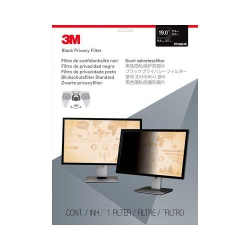 "3M Privacy Filter For 19"" Standard Monitor (PF190C4B)"