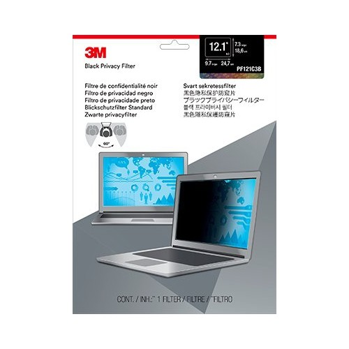 3M Pf12.1 Privacy Filter For Laptop 12.1 Inch (PF121C3B)