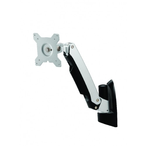 Amer Networks Single Link Spring Cantilever Articulating Monitor Wall Mount (AMR1AW)