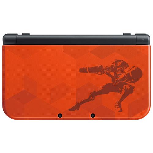 new Nintendo 3DS XL Samus Edition Console