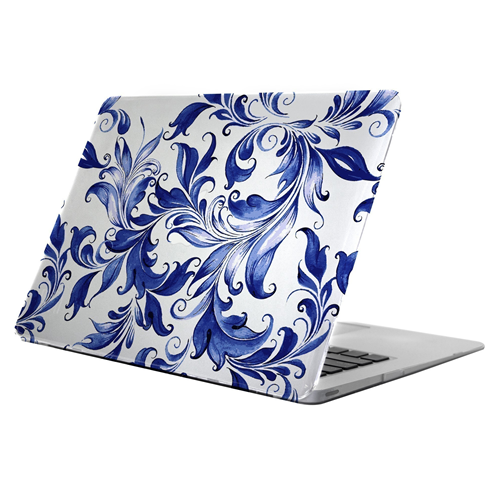 Uncommon C2001OO Clear Deflector MacBook 12'' Delft Swirl