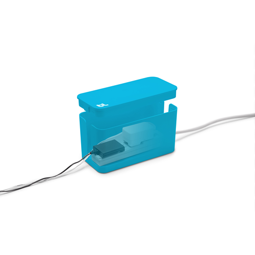 Bluelounge CBMBLU Cablebox Mini Bleu