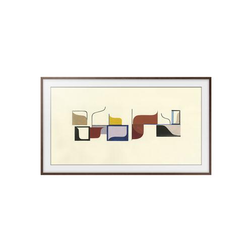 Cadre en bois de 65 po de Samsung pour téléviseur The Frame - Noyer