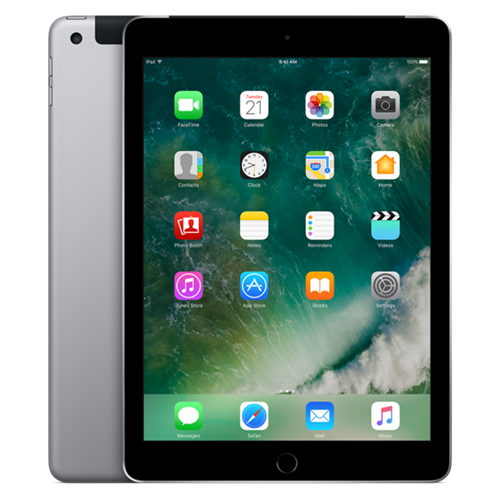 Apple iPad Air 2 MH312LL/A (128GB, Wi-Fi + Cellular, 9.7-inch, Space Gray)