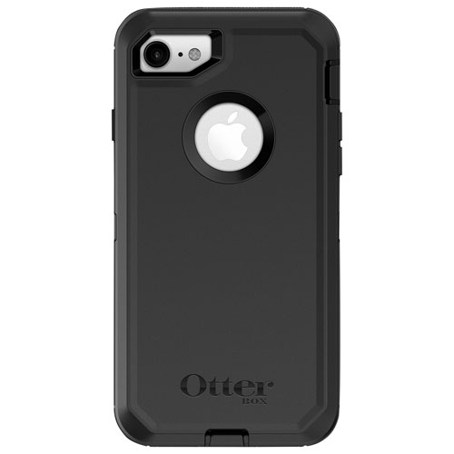 Otterbox Defender Fitted Hard Shell Case For Iphone 8 7 Black Best Buy Canada