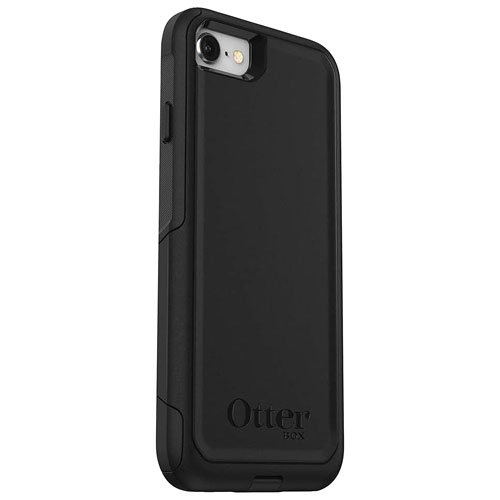 new style ff404 dea71 OtterBox Commuter Fitted Hard Shell Case for iPhone 8/7 - Black