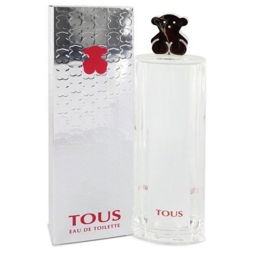 Tous Silver by Tous Eau De Toilette Spray 3 oz 90ml
