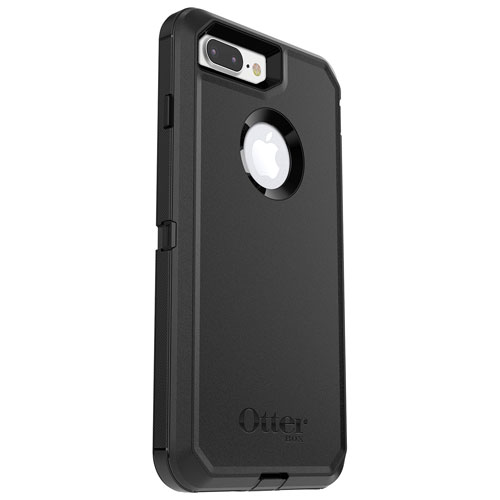 separation shoes 41ae0 d079d OtterBox Defender Fitted Hard Shell Case for iPhone 8 Plus/7 Plus - Black