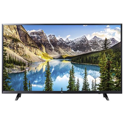 Téléviseur intelligent WebOS HDR DEL UHD 4K 65 po de LG (65UJ6200)