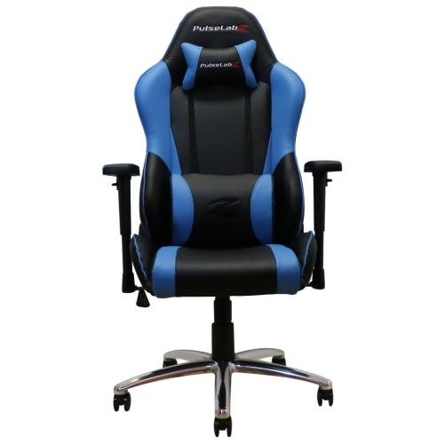 PulseLabz Challenger Series Gaming Chair - Blue/Black