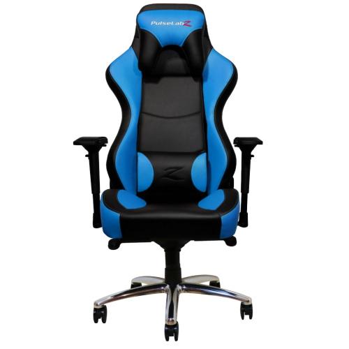 PulseLabz Guardian Series Gaming Chair - Blue/Black