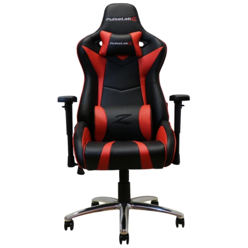 PulseLabz Enforcer Series Gaming Chair - Red/Black