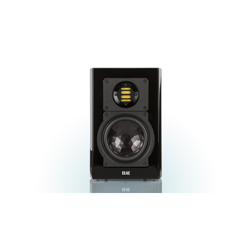 ELAC 2-Way Bass-Reflex BS 263 Bookshelf Speakers (Black/White, Pair) - High Gloss