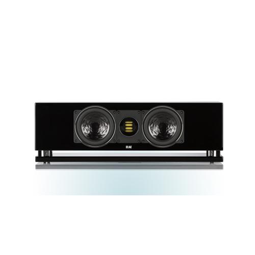 ELAC CC 400 2.5-Way Bass Reflex Center Channel Speaker (Black/White/Walnut, Each/Single) - High Gloss