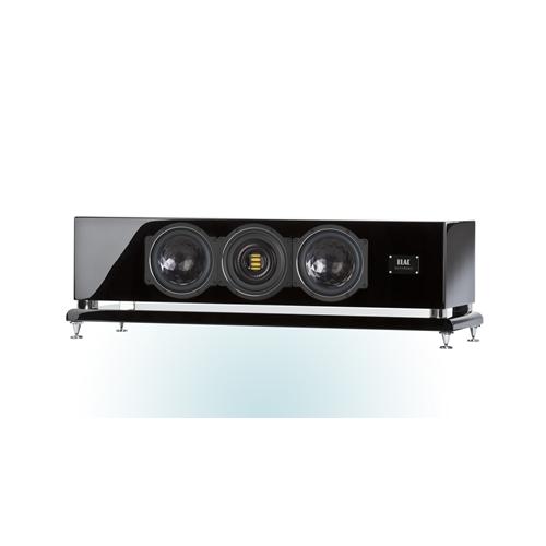 ELAC CC 501 VX-JET 3-Way Center Channel Speaker (Walnut/Black, Each/Single) - High Gloss