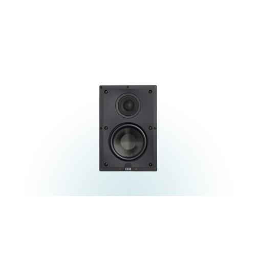 """ELAC Debut Series 6.5"""" 2-Way In-Wall Speaker (White, Each/Single)"""
