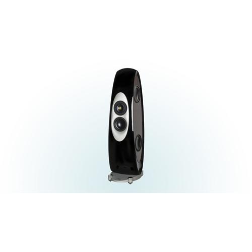 ELAC Concentro Floorstanding Speaker (Black/White, Each/Single) - High Gloss