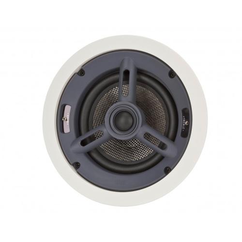 """ELAC In-Ceiling Speaker - 6.5"""" Woofer (White, Pair)"""