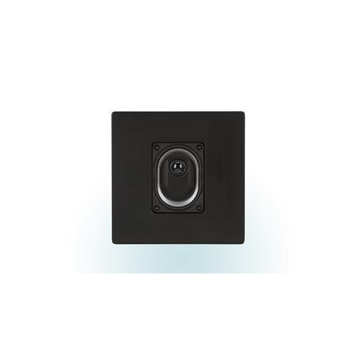ELAC Compact On-Wall Speaker (Black/White, Each/Single) - Satin White