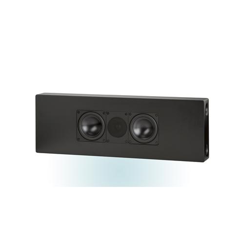 ELAC 2.5-Way Bass-Reflex On-Wall Speaker (Black/White, Each/Single) - Satin White
