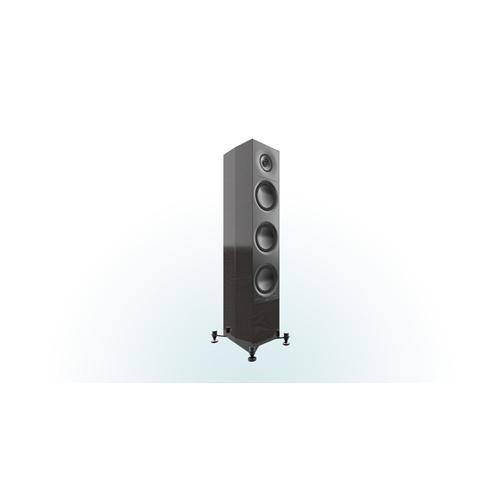 """ELAC AF 61 Adante 6.5"""" Floorstanding Speaker (Gloss Black, Each/Single)"""