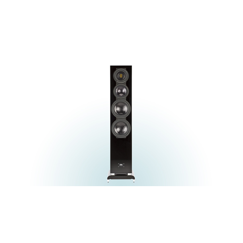 ELAC FS 509 VX-JET 4-Way Floorstanding Speaker (Walnut/Black, Each/Single) - High Gloss