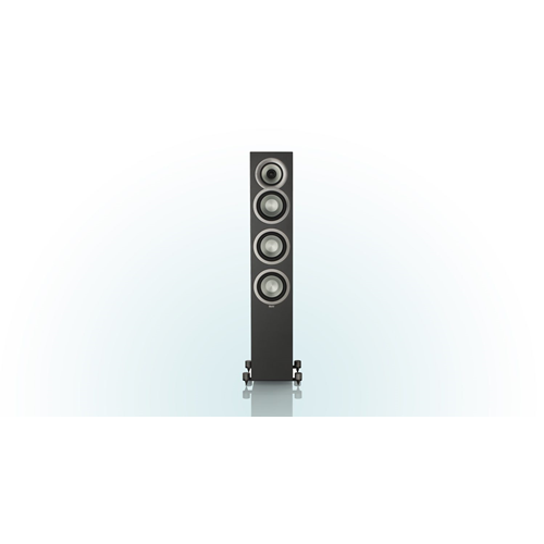"ELAC Uni-fi FS U5 Slim 5.25"" Floorstanding Speaker (Black Cabinet, Each/Single) - Satin"