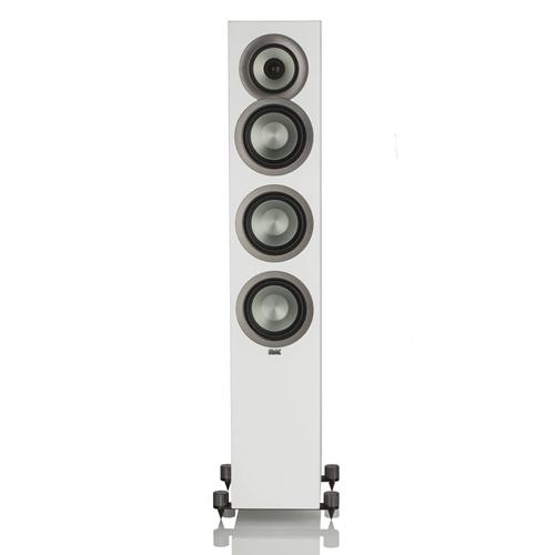 "ELAC Uni-fi FS U5 Slim 5.25"" Floorstanding Speaker (White Cabinet, Each/Single) - Satin"