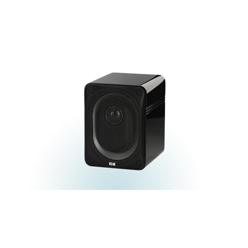 ELAC BS 302 2-Way Bookshelf Speakers (Black/White/Gray, Pair) - High Gloss