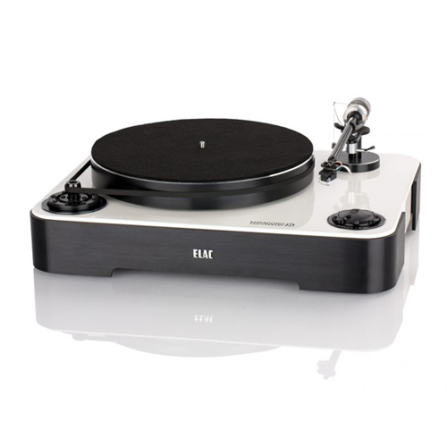 ELAC Miracord 90 Turntable (Gloss White/Black Base, Each/Single)