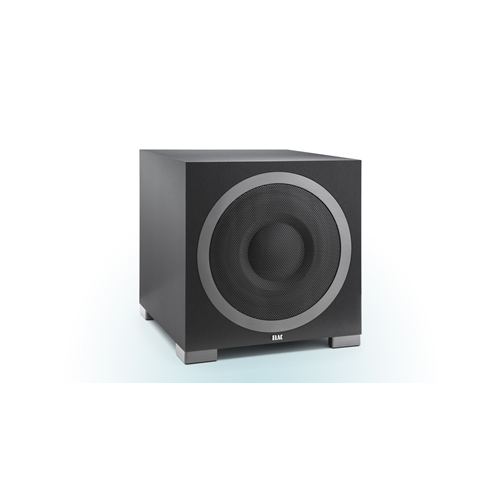 "ELAC S12 Debut Series 12"" 1000-Watt Powered Subwoofer with App Control/Auto EQ (Black, Each/Single)"