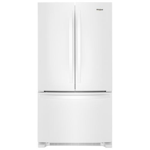 R frig rateur deux portes prof comptoir 20 pi3 36 po distributeur eau whirlpool wrf540cwhw - Refrigerateur deux portes ...