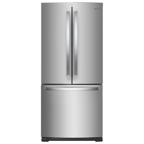 "Kitchenaid 30 19 7 Cu Ft French Door Refrigerator With: Whirlpool 30"" 19.7 Cu. Ft. French Door Refrigerator With LED Lighting (WRF560SFHZ)"