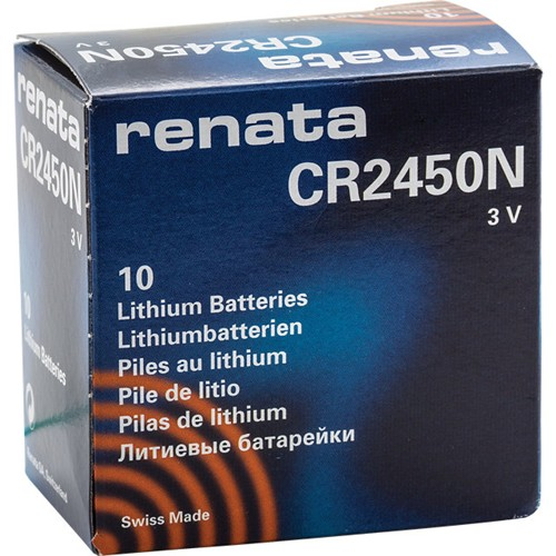 10 x renata 2450 watch batteries 3v lithium cr2450n cr2450 plus many more battery sizes. Black Bedroom Furniture Sets. Home Design Ideas