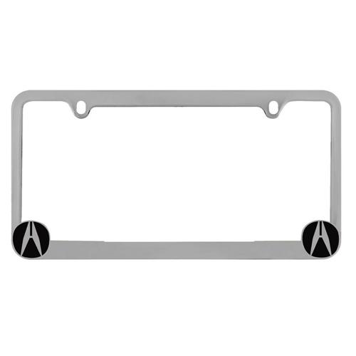 Pilot Automotive Acura License Plate Frame Chrome GPS Best Buy - Acura license plate frame