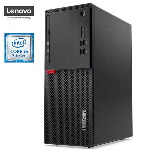 Lenovo ThinkCentre M710 Tower, Intel 7th Gen Core i5, 8GB RAM, 256GB SSD, DVD-RW, Windows 10 Pro, 1 Year Warranty - New