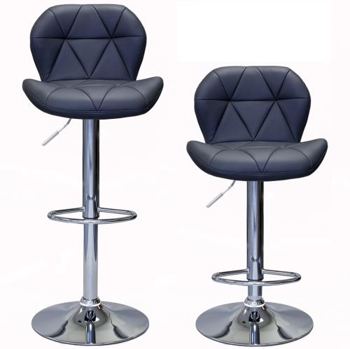 Excellent Viscologicmonoco Adjustable Bar Stools Grey Set Of 2 Gmtry Best Dining Table And Chair Ideas Images Gmtryco