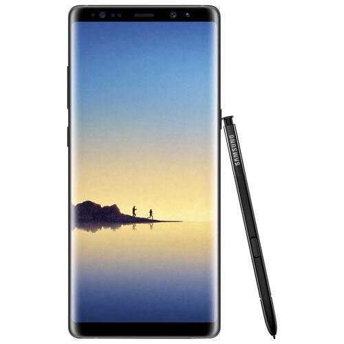 Koodo Samsung Galaxy Note8 64GB - Midnight Black - Tab Large