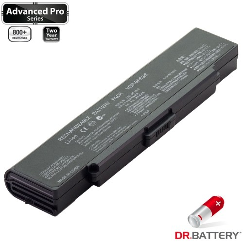 Dr. Battery - Canadian Brand Replacement Laptop Battery (Samsung SDI 5200mAh) - Sony VGP-BPS9/B - Free Shipping across Canada