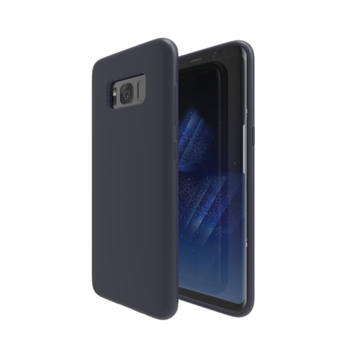 Axessorize Fitted Soft Shell Case for Samsung Galaxy S8 Plus - Cobalt Blue