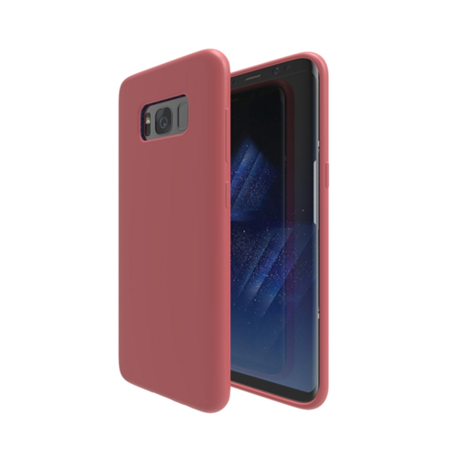 Axessorize Fitted Soft Shell Case for Samsung Galaxy S8 Plus - Coral